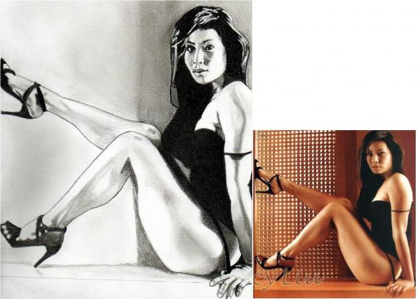 Lucy Liu por paco311